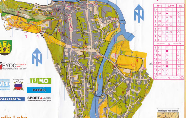 EYOC Sprint 2006 Slovenia