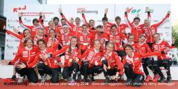 Swiss Orienteering Team at EOC 2018 Ticino Switzerland