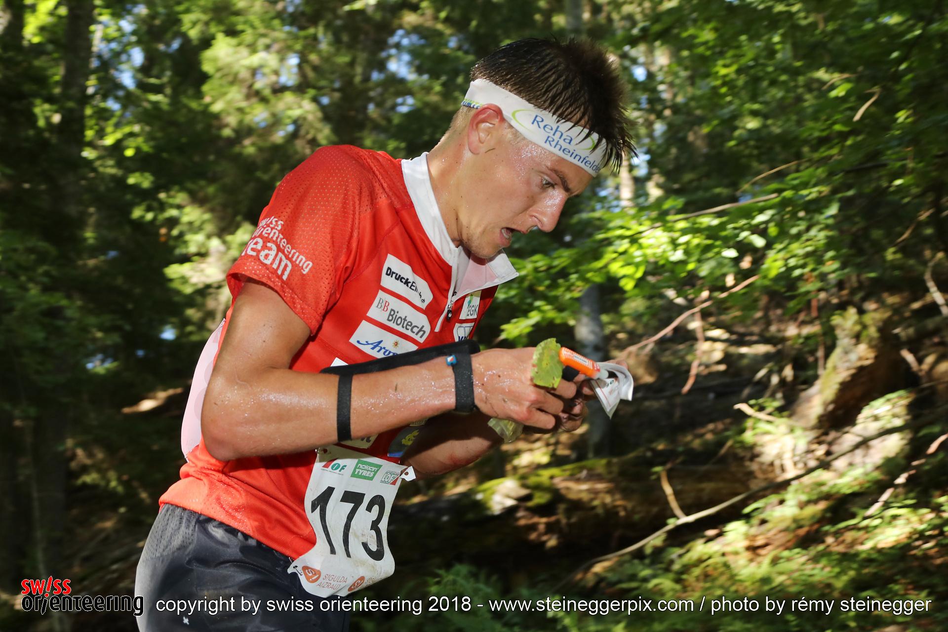 Matthias Kyburz (SUI, 4th) – Middle Distance WOC 2018 Latvia