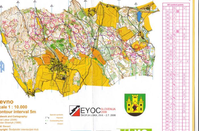EYOC Relay 2006 Slovenia