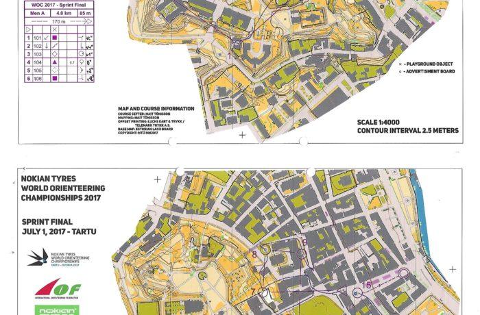 WOC Sprint 2017 Estonia