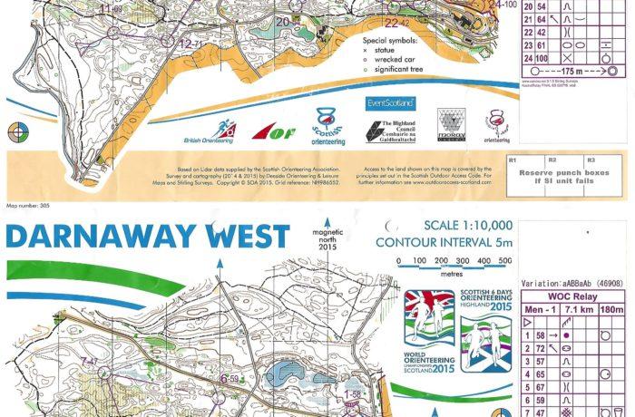 WOC Relay 2015 Scotland