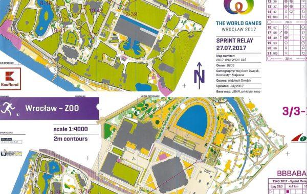 World Games Sprintrelay 2017 Poland