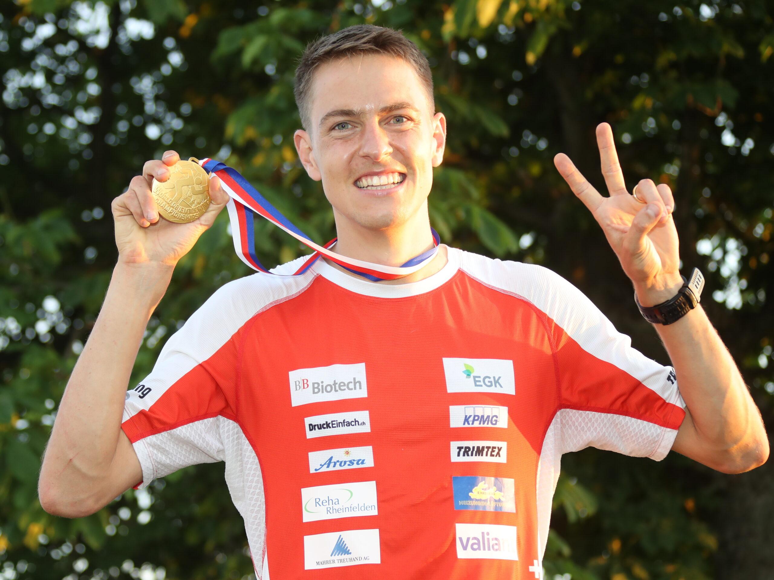 Matthias Kyburz (SUI) wins Gold