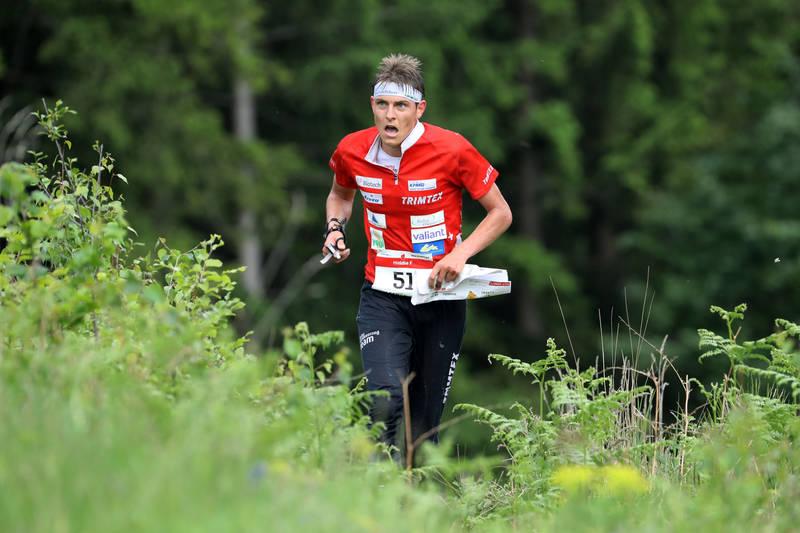 European Champion: Matthias Kyburz (SUI) at EOC 2016 – middle final men