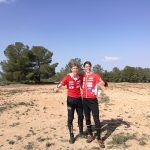 Daumen hoch nach dem TL in Alicante