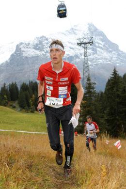 Matthias Kyburz (SUI, Winner) – Long Distance Men at the EGK Orienteering World Cup Final 2017 in Grindelwald / Switzerland