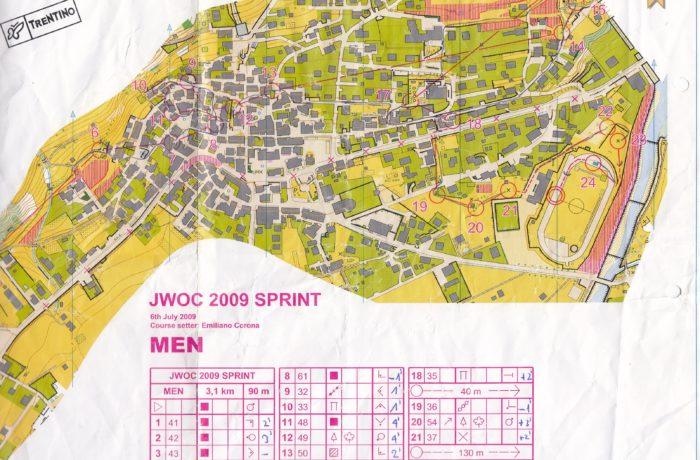 JWOC Sprint 2009 Italy
