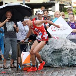 Matthias Kyburz (SUI, 5.) – Sprint Finals WOC 2018 Latvia