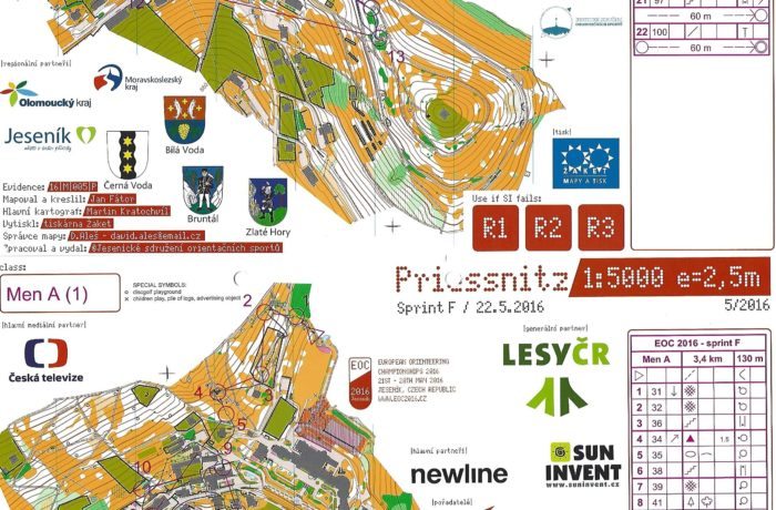 EOC Sprint 2016 Czech Republic