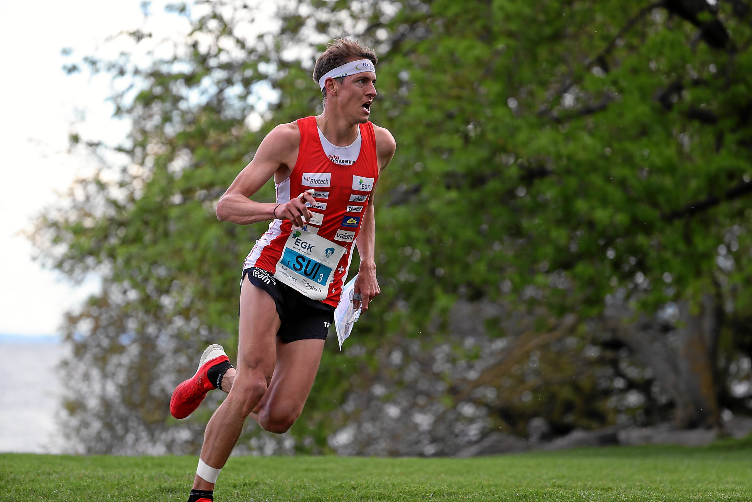 EOC 2021 Neuchatel. Mixed Sprint Relay – Matthias Kyburz (Switzerland)