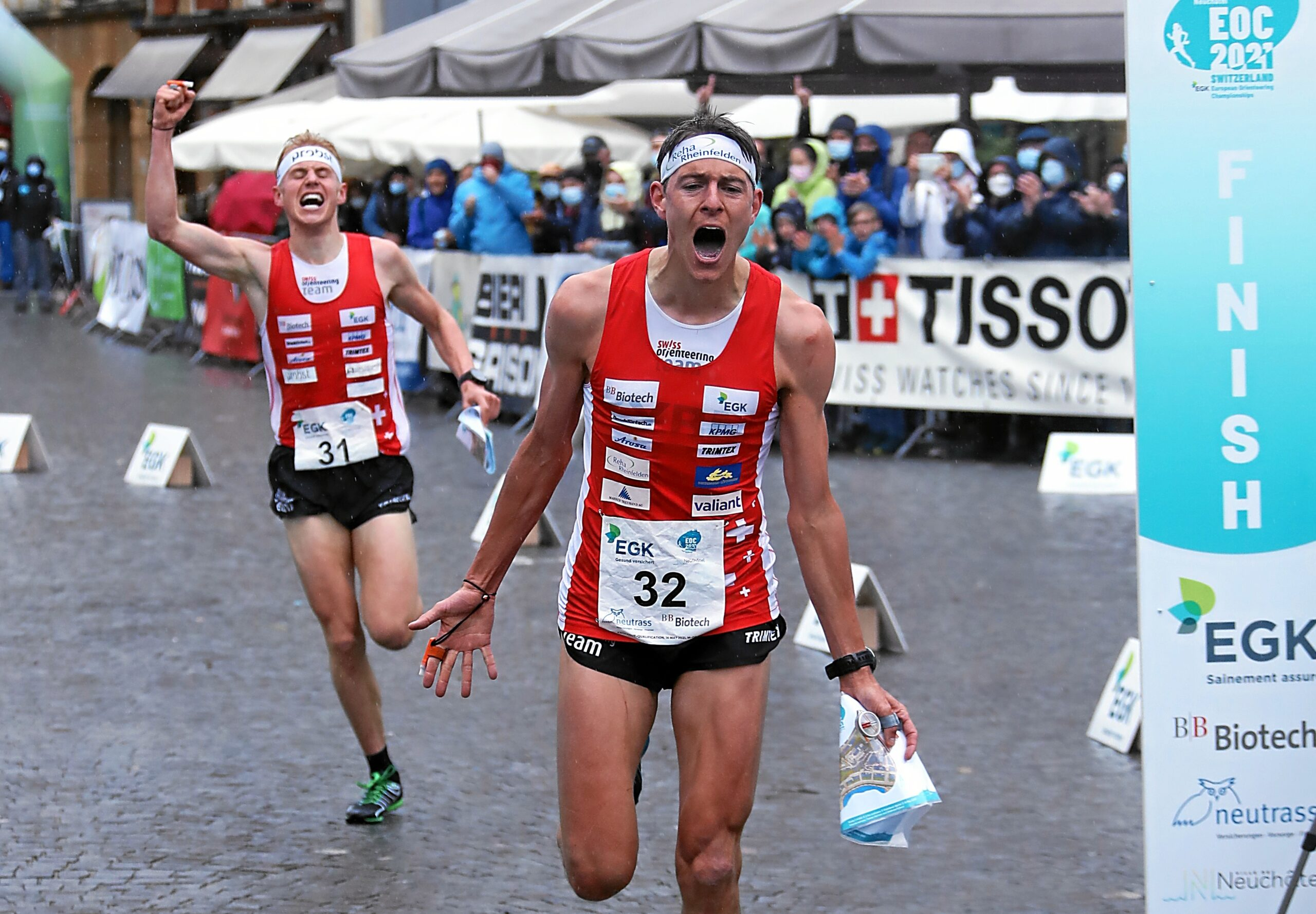 EOC 2021: KO Sprint Finals Men – Men Matthias Kyburz (SUI) New European Champion